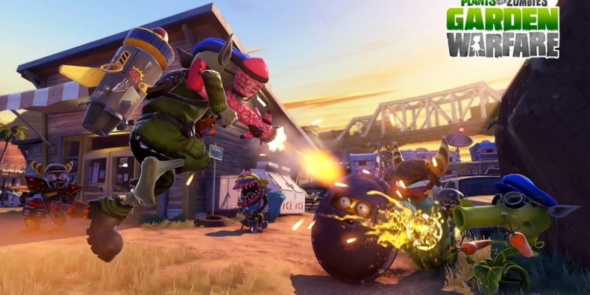 Las promesas de Plants vs Zombies: Garden Warfare en PlayStation 4