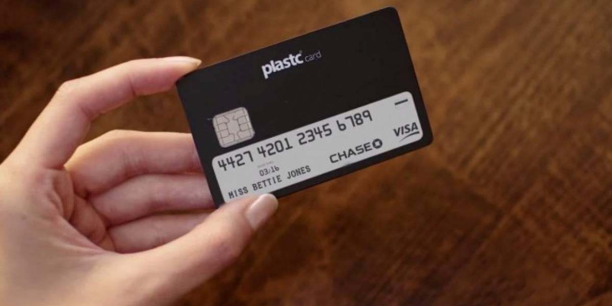 Plastc es una smartcard que junta todas tus tarjetas en un plástico