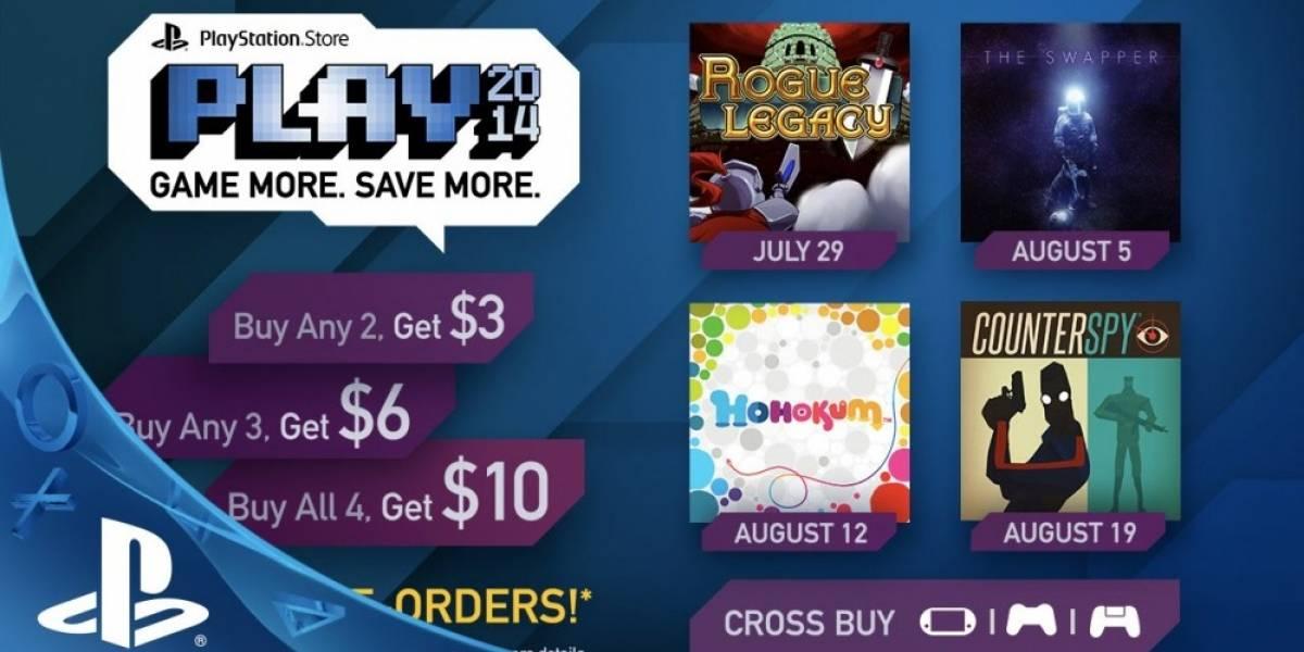 Sony anuncia la línea de juegos que integran el programa PLAY 2014 en PS Store