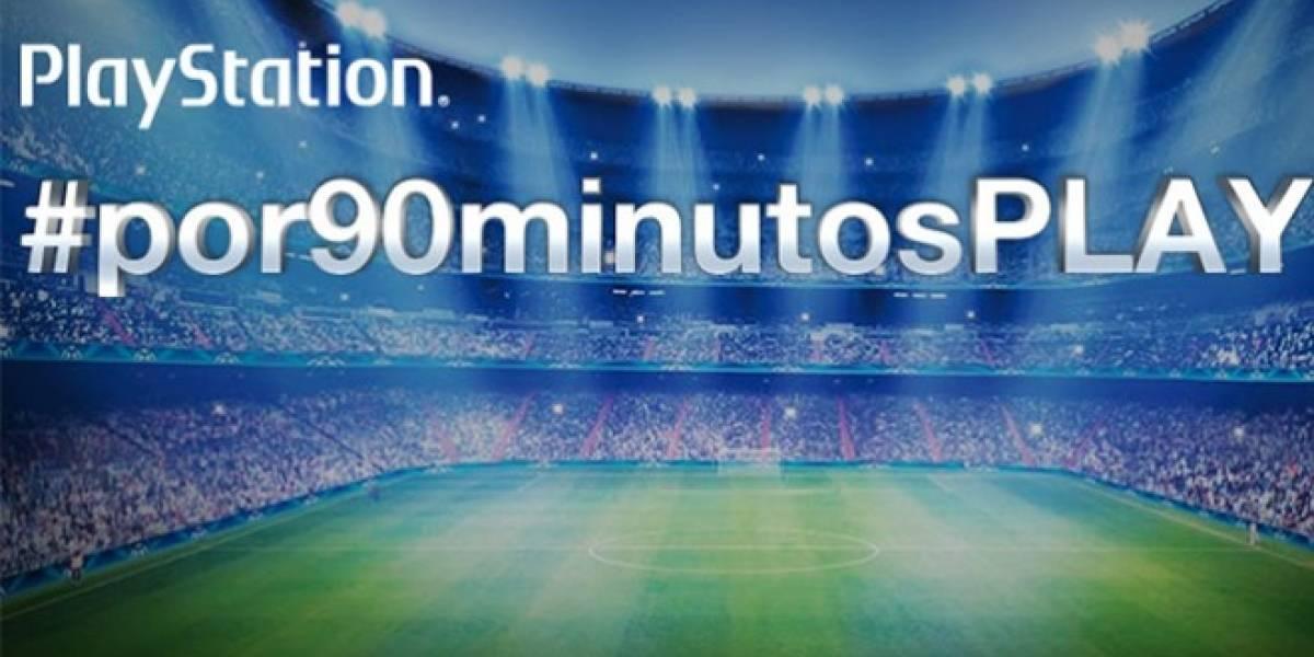 PlayStation te lleva a la final de la Champions con el concurso #por90minutosPLAY