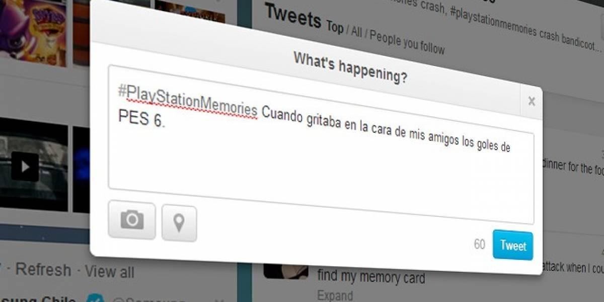 #PlayStationMemories se toma las redes sociales ¿Qué recuerdos quieres compartir?