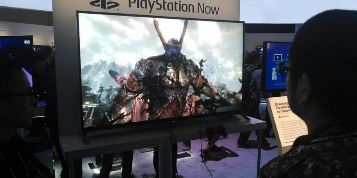 PlayStation Now estará diponible en junio para televisores Bravia con 4K