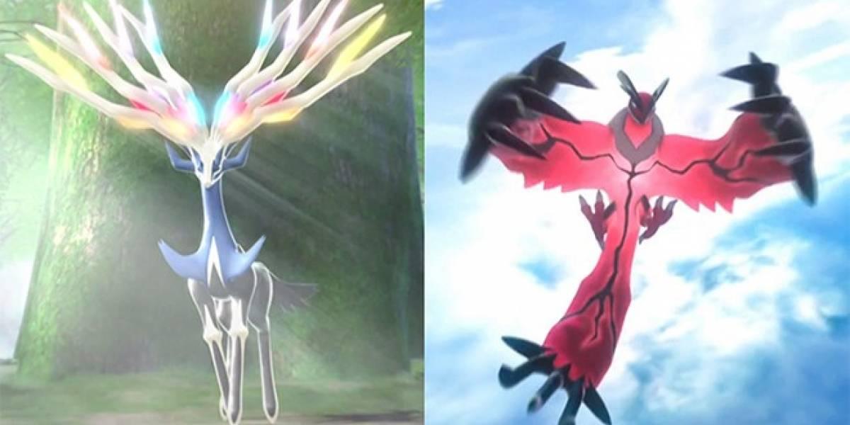 Se develan los nombres de los Pokémon legendarios de las versiones X y Y