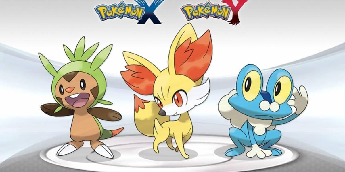 Filtran segunda evolución de los Pokémon iniciales de las versiones X y Y