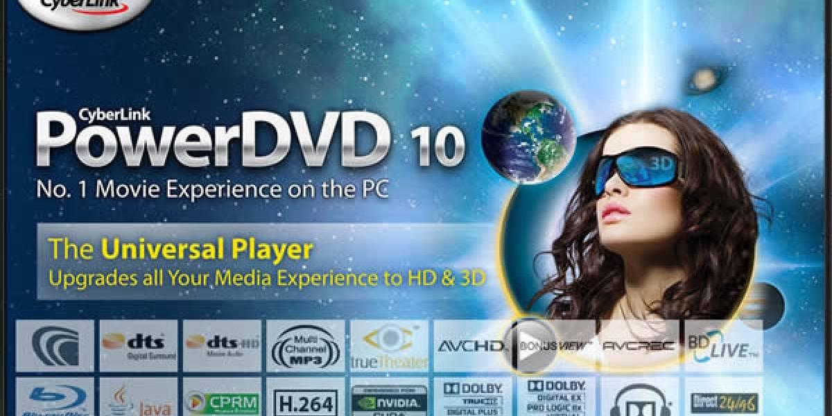 Actualización de PowerDVD 10 activa soporte Bitstream para Geforce GTX 460