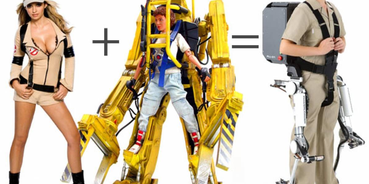 Power Loader Light: Panasonic empieza a vender exoesqueleto mecánico ligero