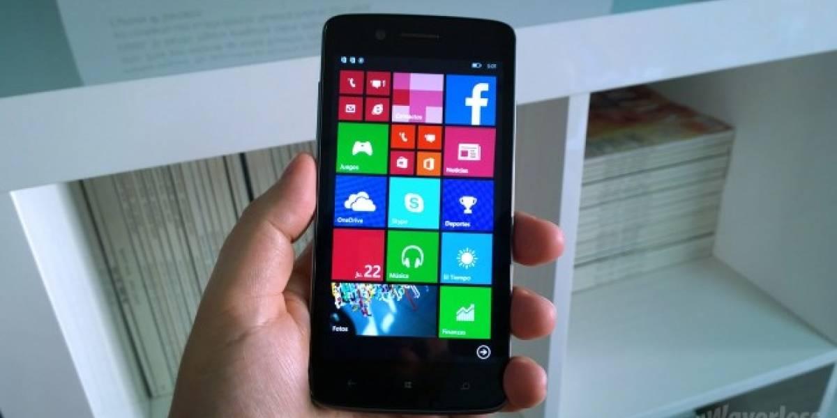 Prestigio presenta sus primeros Windows Phone en España