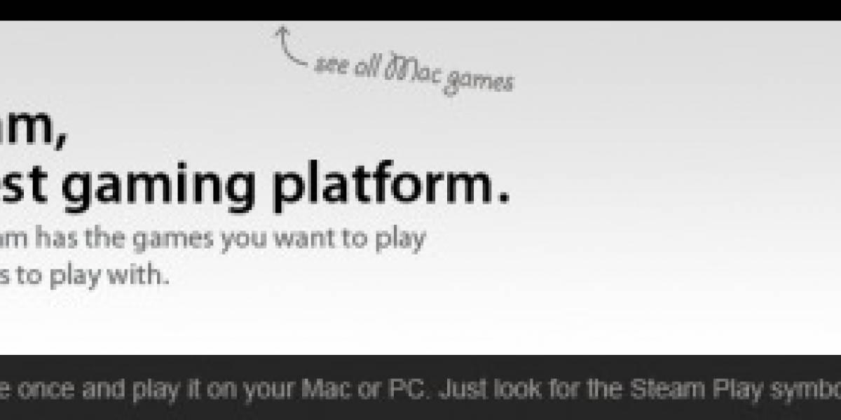 Steam para Mac con más de 50 videojuegos y contando