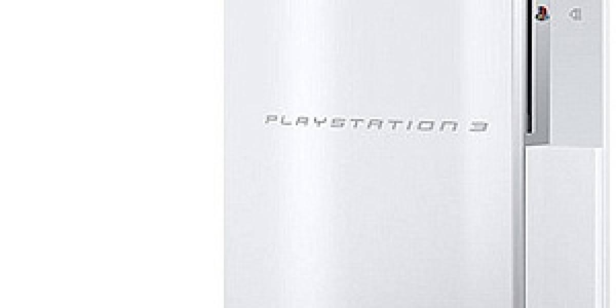 PlayStation 3 blanco llega a América