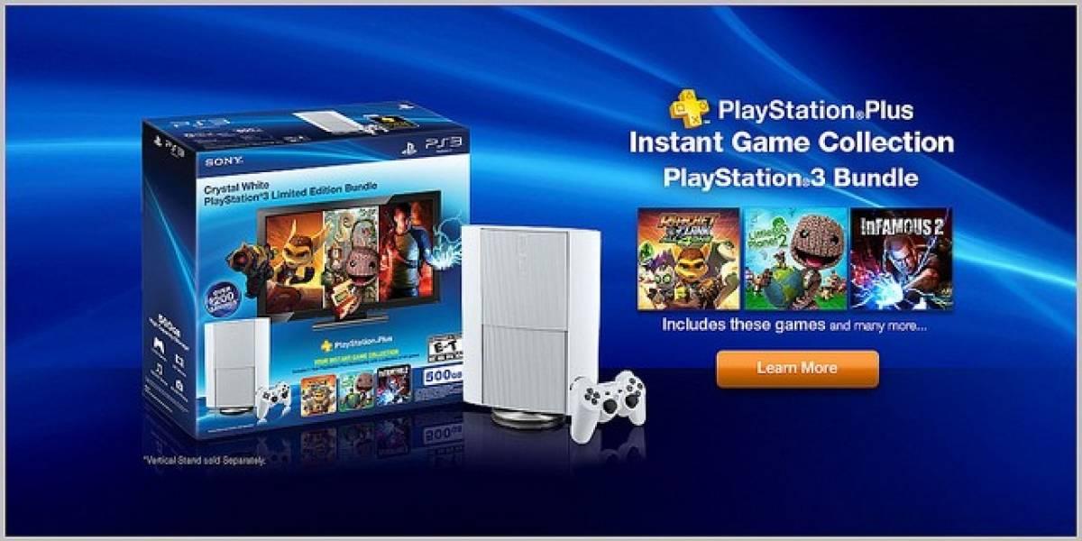 Sony anuncia bundle de consola PS3 en color blanco para Norteamérica