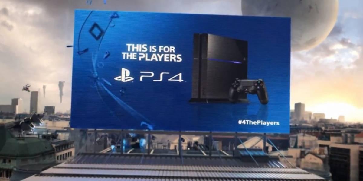 Los videojuegos toman la ciudad en el tráiler de lanzamiento de PlayStation 4