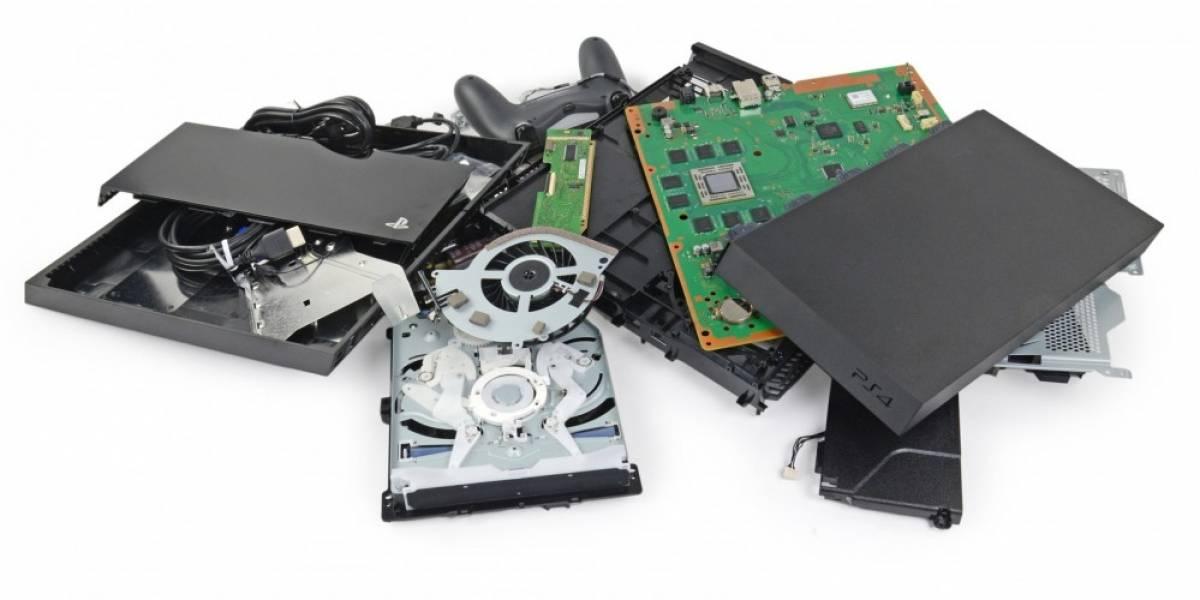 iFixit desarma una PlayStation 4 para ver qué tiene adentro