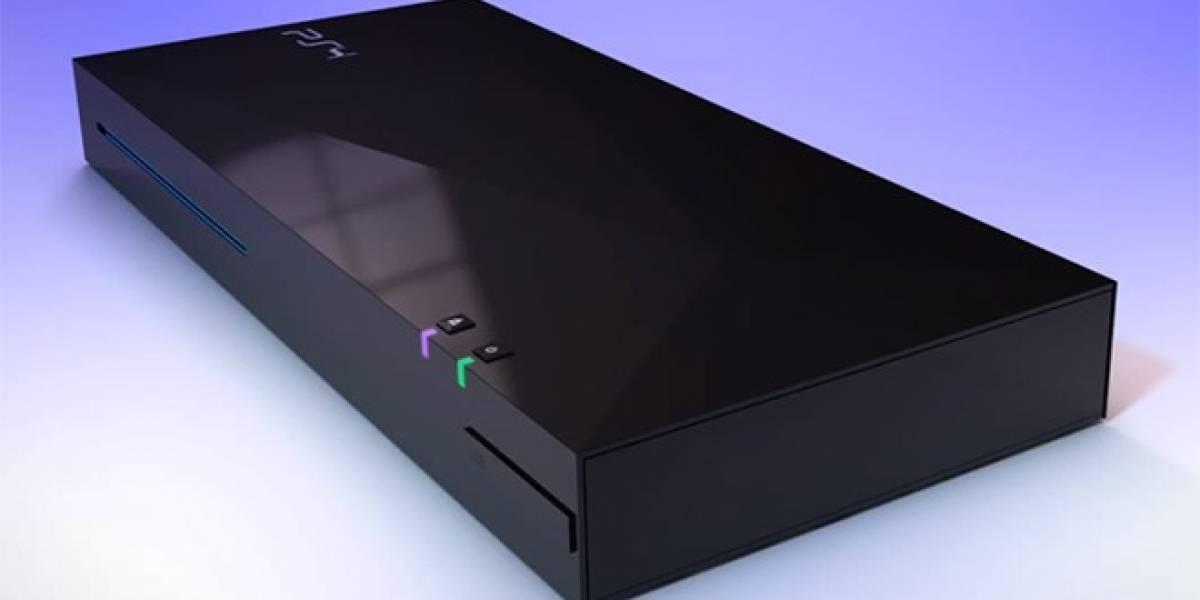 Así luciría la PlayStation 4, según el concepto de un diseñador