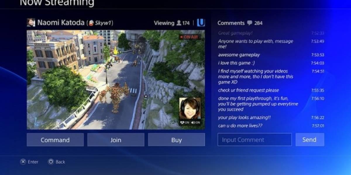 Así luce la interfaz de la PS4 en acción #E3
