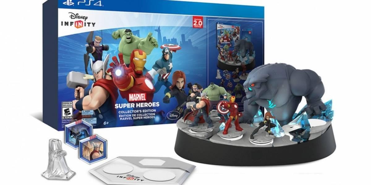 Se anuncia edición de colección de Disney Infinity: Marvel Super Heroes