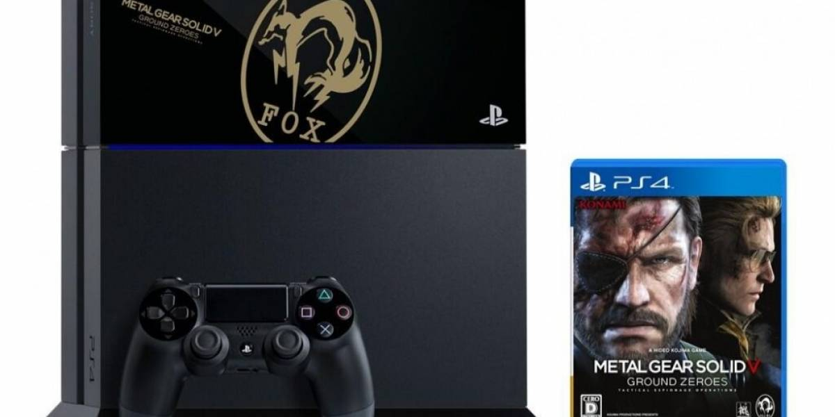 La edición coleccionista de PS4 y MGS V: Ground Zeroes es todo un logro artístico