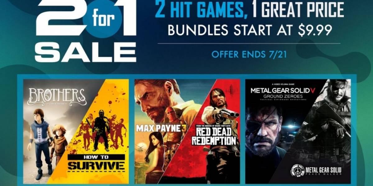Sony anuncia venta especial de 2 por 1 en PlayStation Store