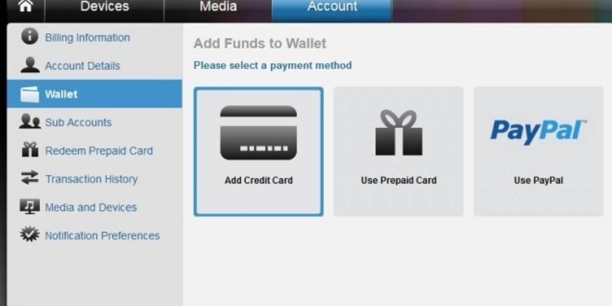 Usuarios de PSN para Norteamérica pueden pagar con PayPal