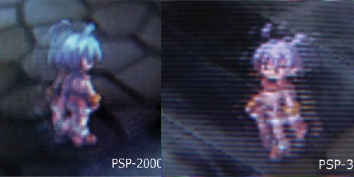 Usuarios reclaman por problemas en la pantalla de la nueva PSP-3000
