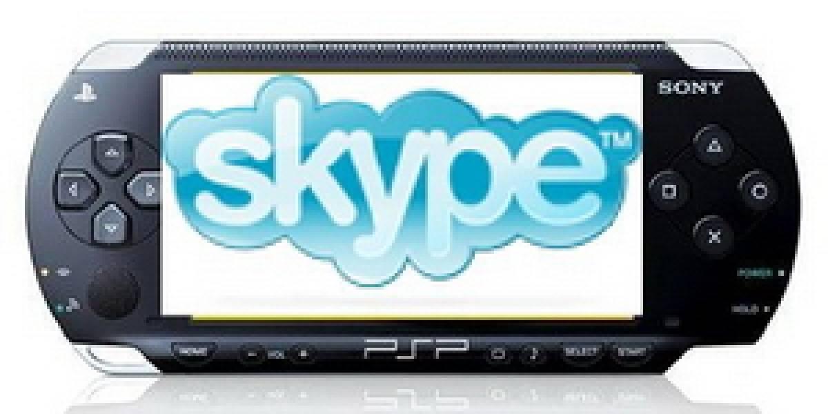 Sony ofrecerá servicio Skype en PSP en Japón