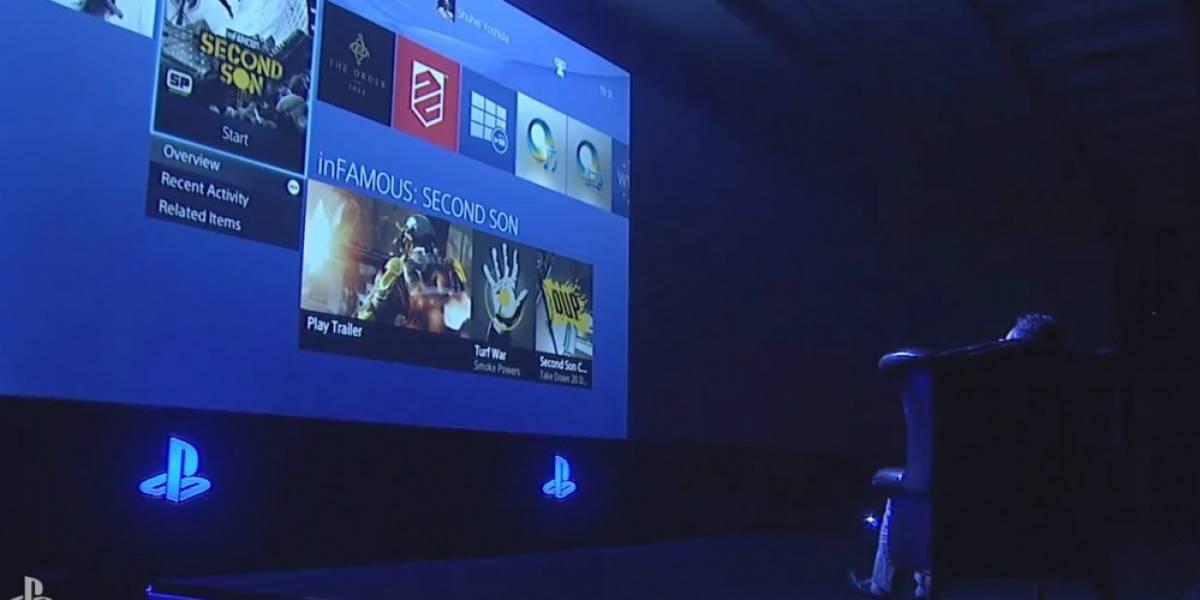 Shuhei Yoshida muestra la interfaz de usuario de PlayStation 4 [gamescom 13]
