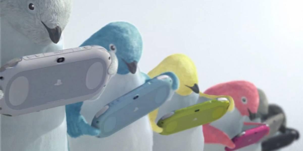 Sony promociona su nueva PlayStation Vita con... ¡Pingüinos!
