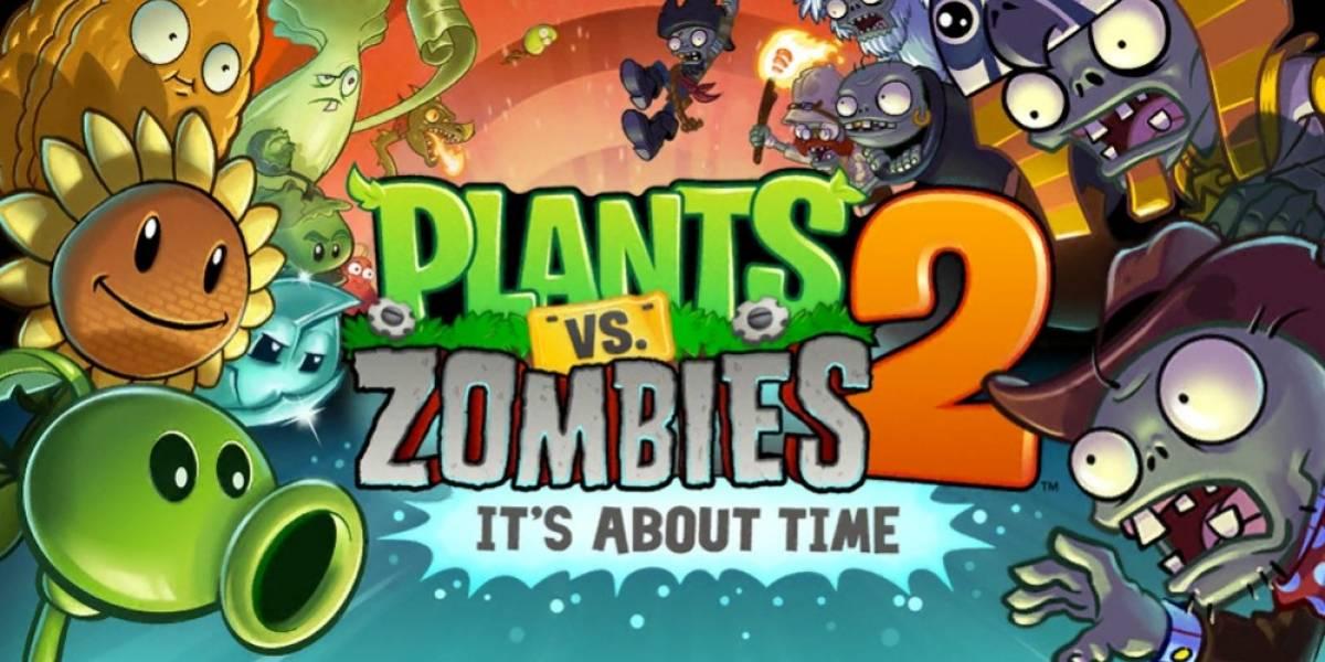 Plants vs. Zombies 2 ronda los 25 millones de descargas