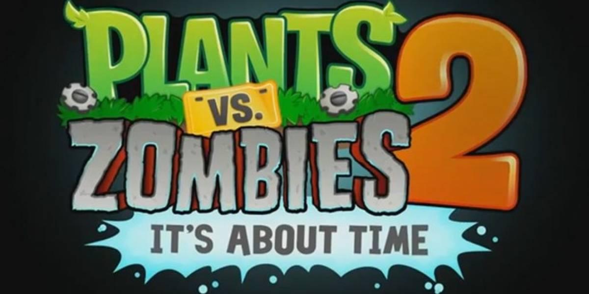 Plants vs. Zombies 2 recibe fecha de salida