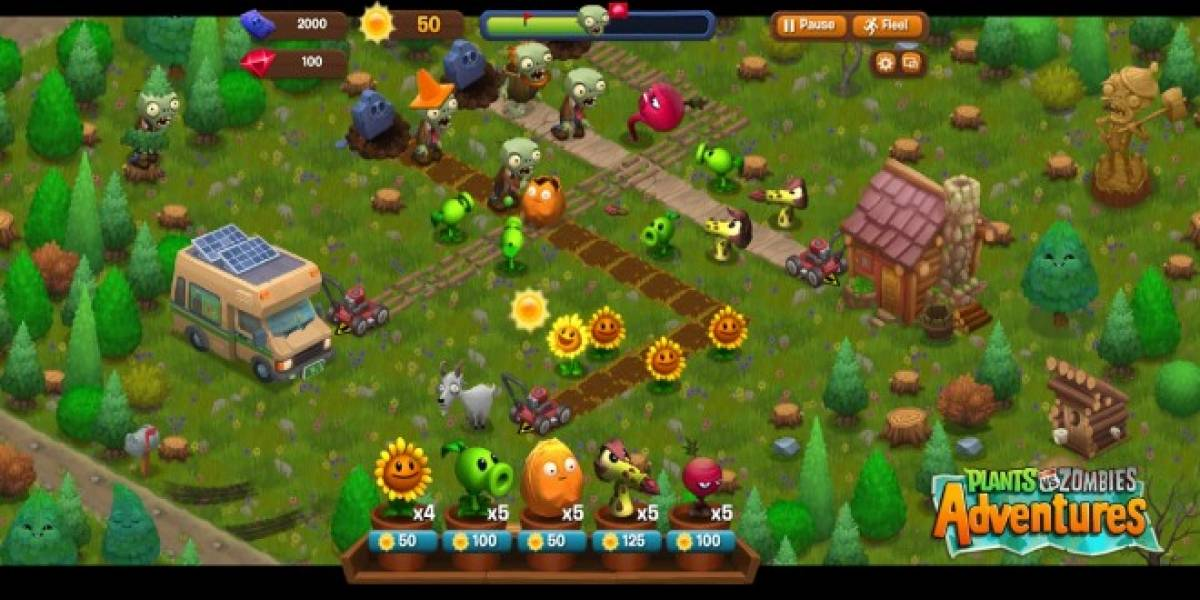 Ya hay fecha para Plants Vs. Zombies Adventures