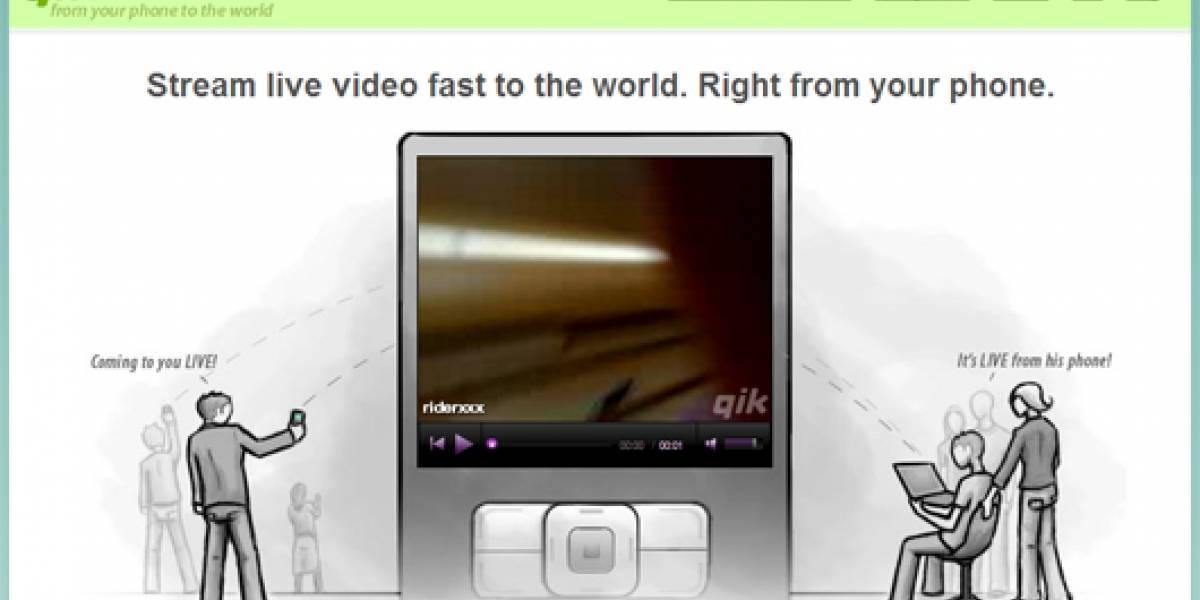 Qik: de tu teléfono para el mundo, en vivo y en directo