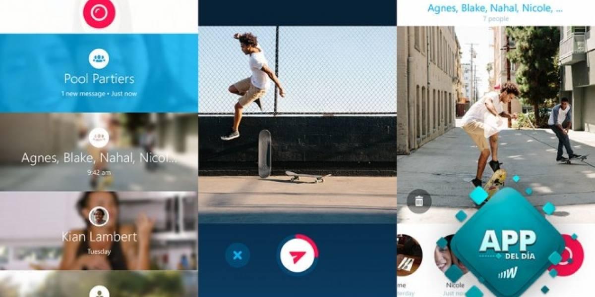 Skype revive Qik para mandar mensajes de vídeo [App del día]
