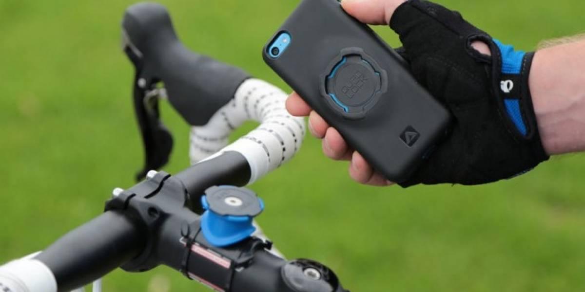 3 formas de llevar tu smartphone en bicicleta