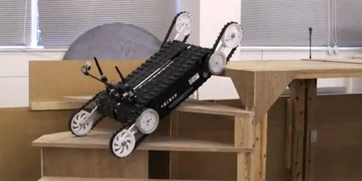 Quince: Robot diseñado para ayudar en el rescate de personas