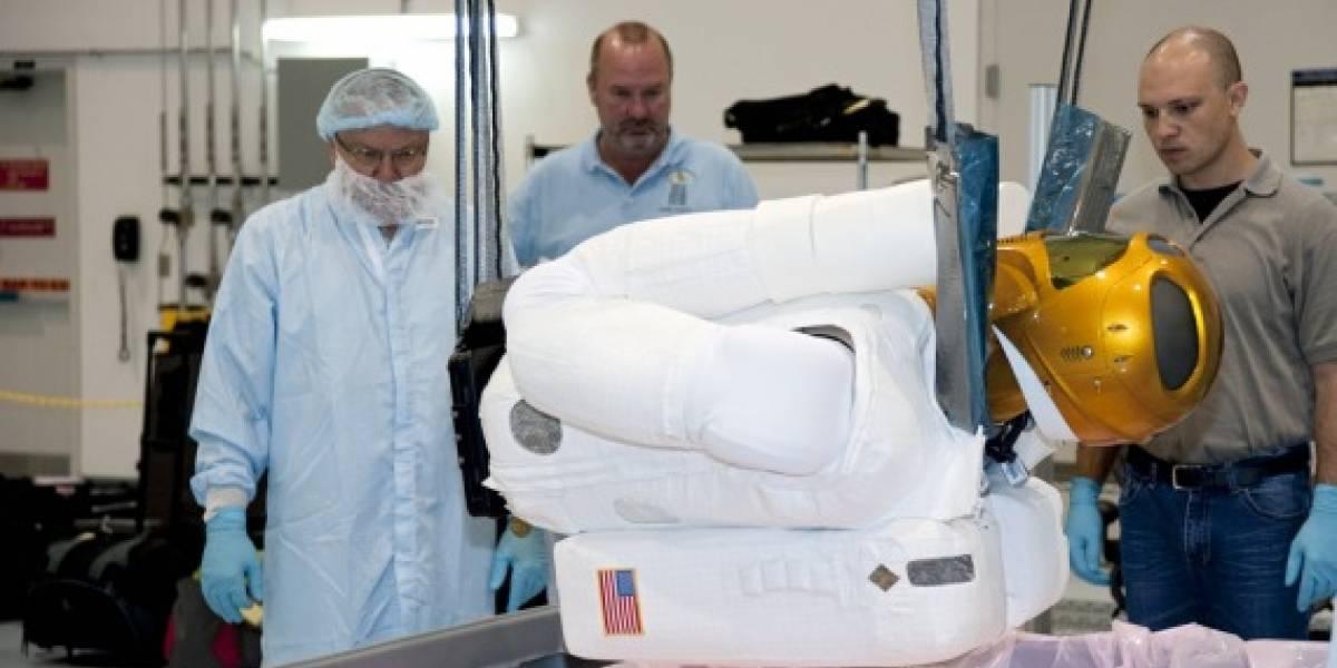 Robonaut 2 se prepara para ir al espacio