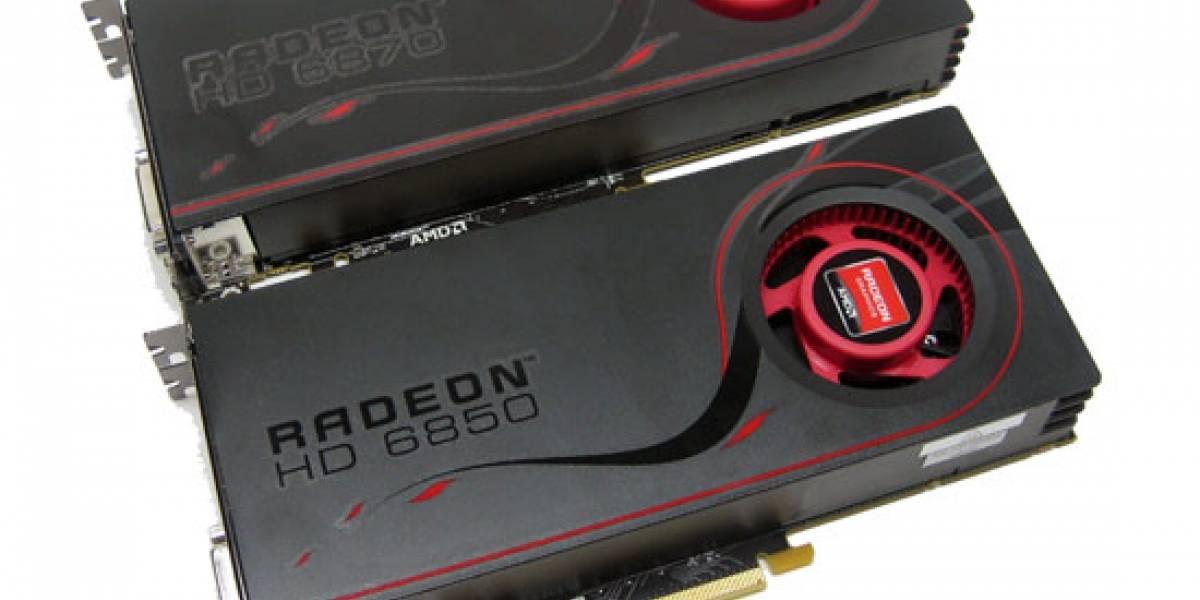 AMD Radeon HD 6850 y 6870: imágenes y Mecha Rampage Demo
