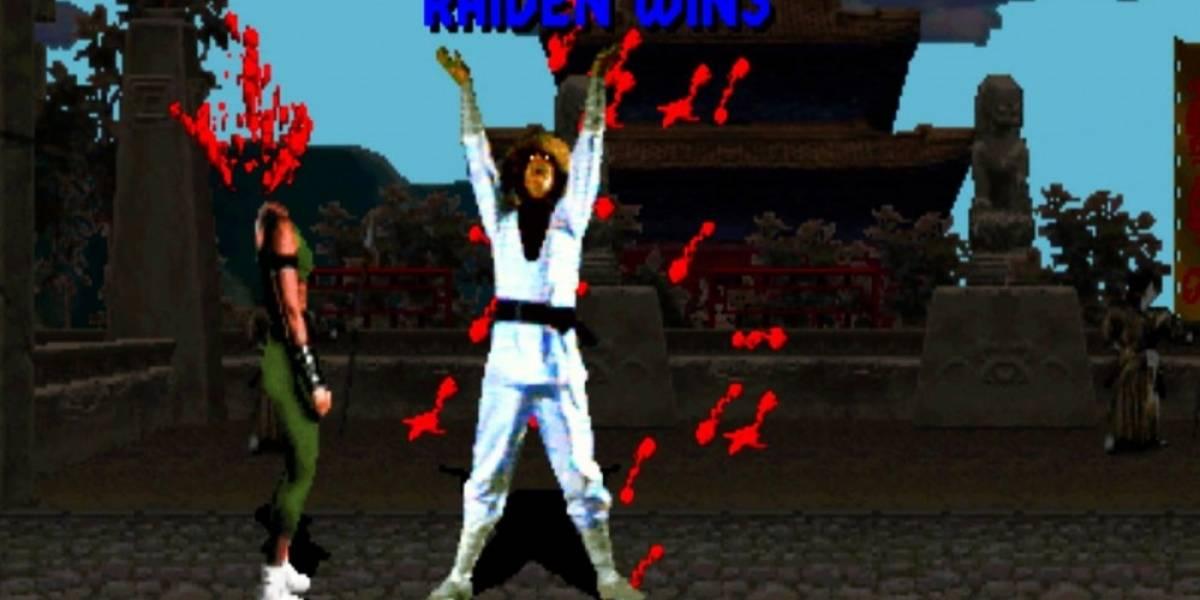 Raiden se presenta en Mortal Kombat X #EVO2014