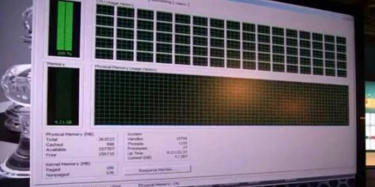 Intel hace demostración de Raytracing con 80 hilos