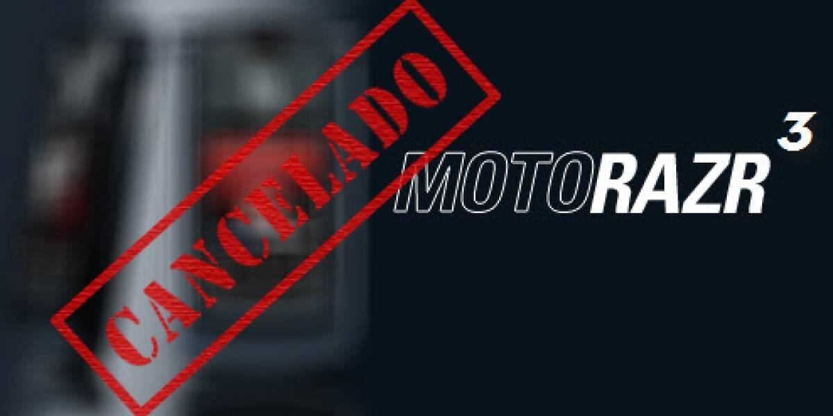 Futurología: Se termina la era de los Moto RAZR