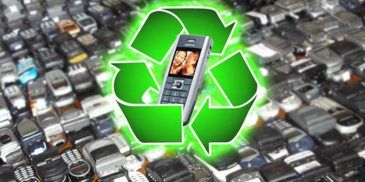 Entel Chile inicia proyecto de reciclaje de celulares en desuso