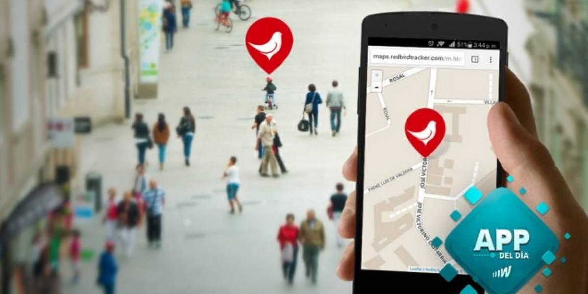 RedBird te localiza con un simple SMS [App del día]
