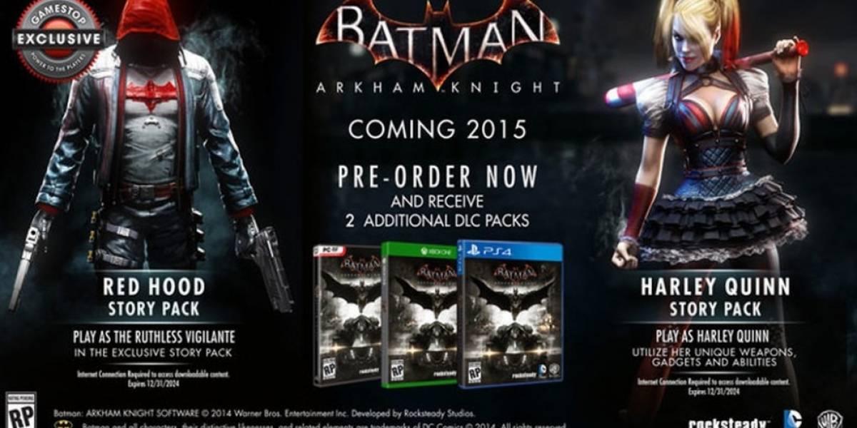 Compre Arkham Knight en GameStop, lleve DLC exclusivo de Red Hood