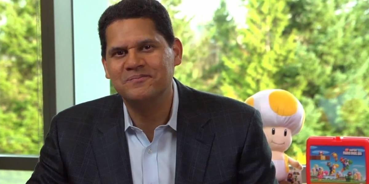 Los fans quieren a Reggie Fils-Aime en Super Smash Bros.
