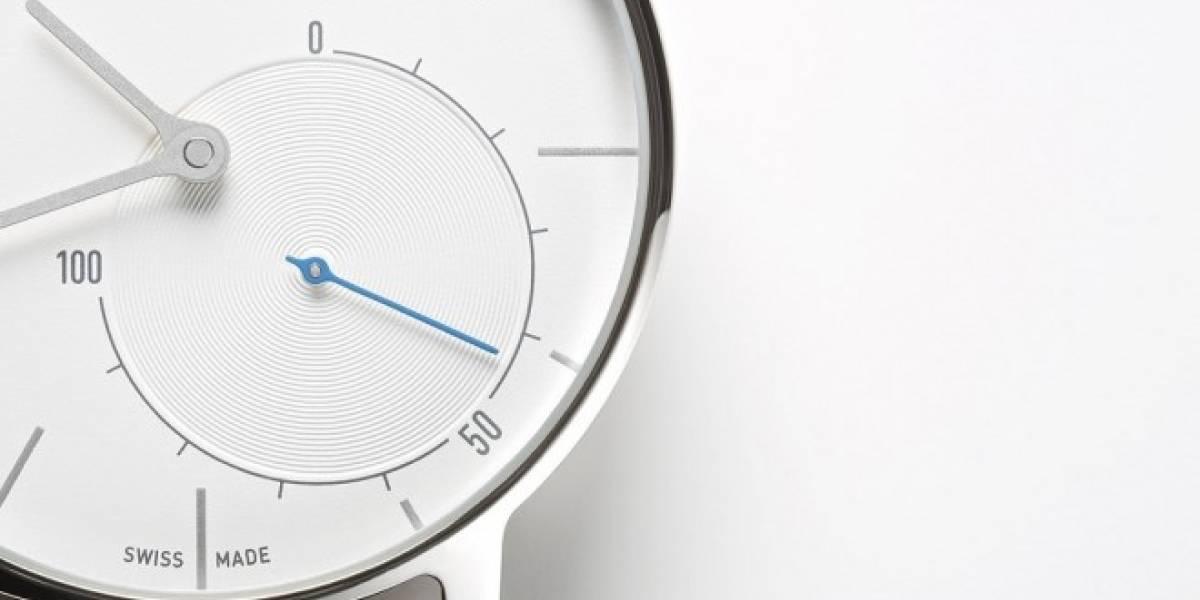 Activité es un smartwatch analógico que registra nuestro acondicionamiento físico