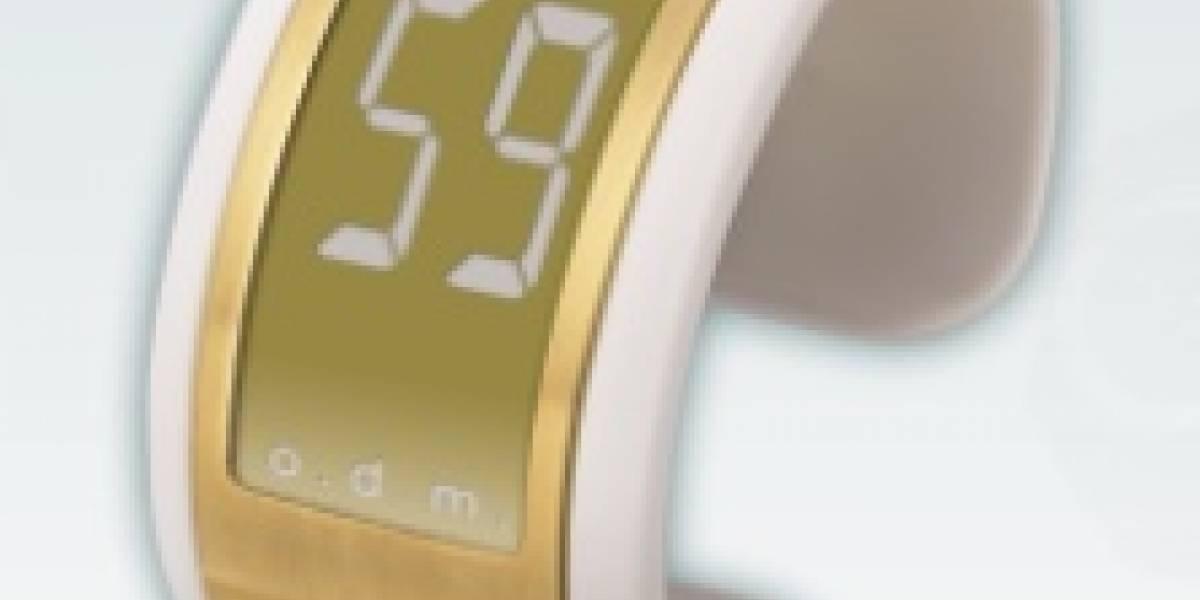 Filmatic II: Reloj con pantalla dorada de papel electrónico