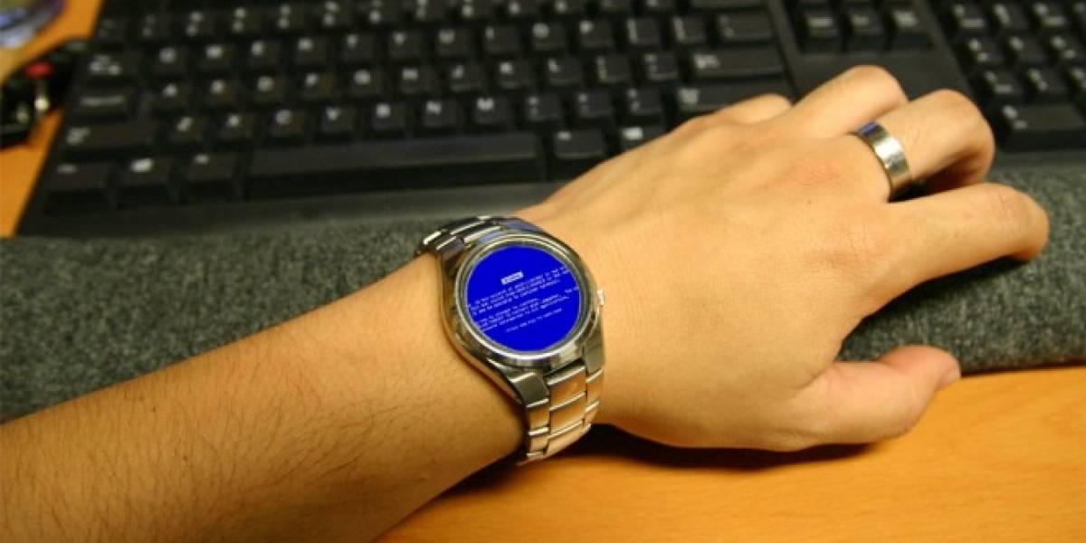 Microsoft está trabajando en su propio smartwatch