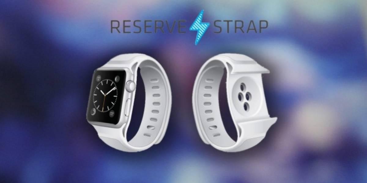 Reserve Strap, la correa-batería que podrá cargar el Apple Watch