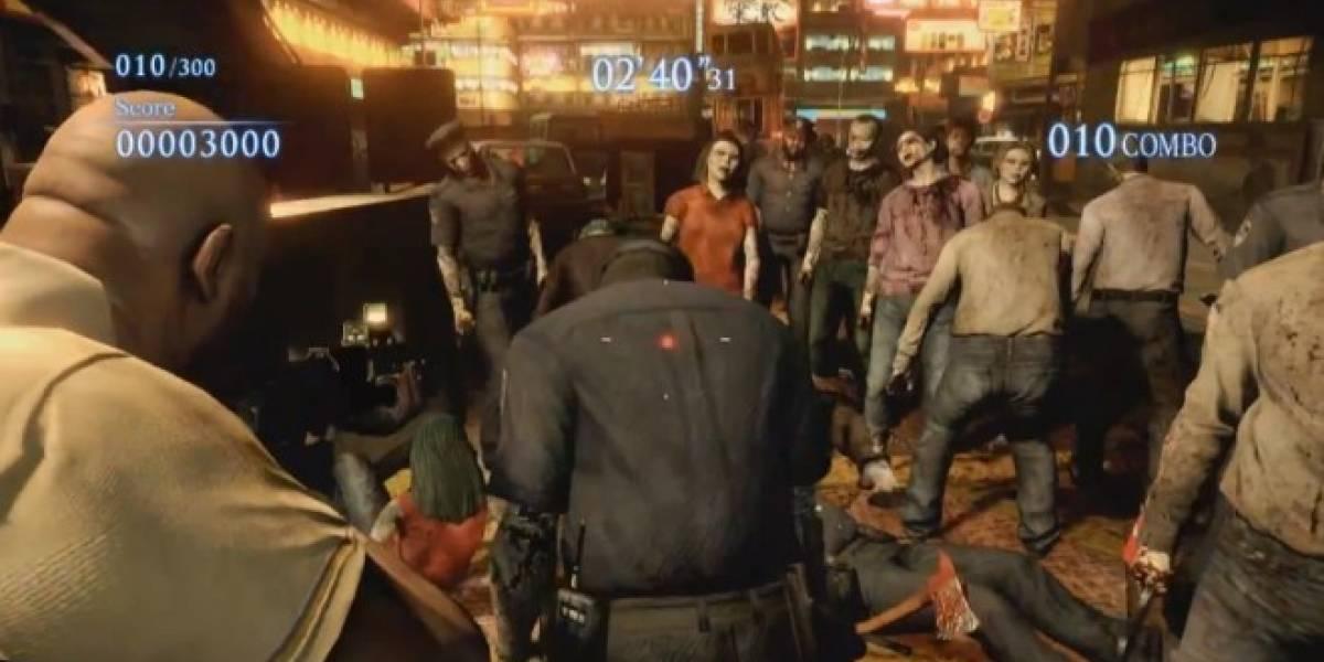 Resident Evil 6 x Left 4 Dead 2 se muestra en su primer video