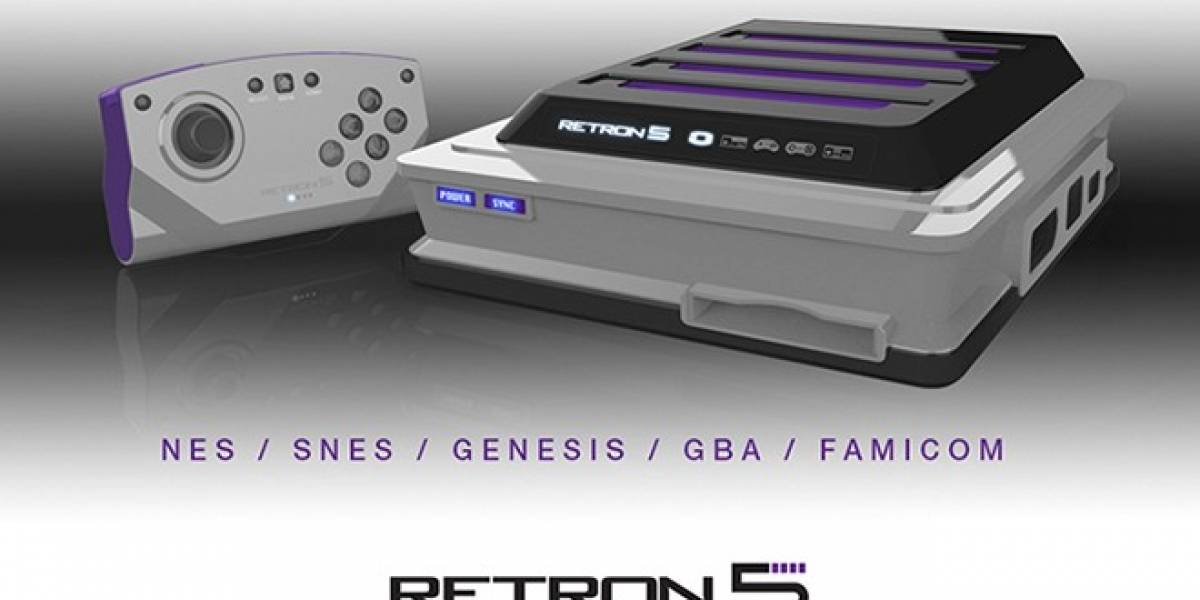 Conoce la RetroN 5, una consola capaz de leer juegos de NES, SNES, Genesis y muchos más