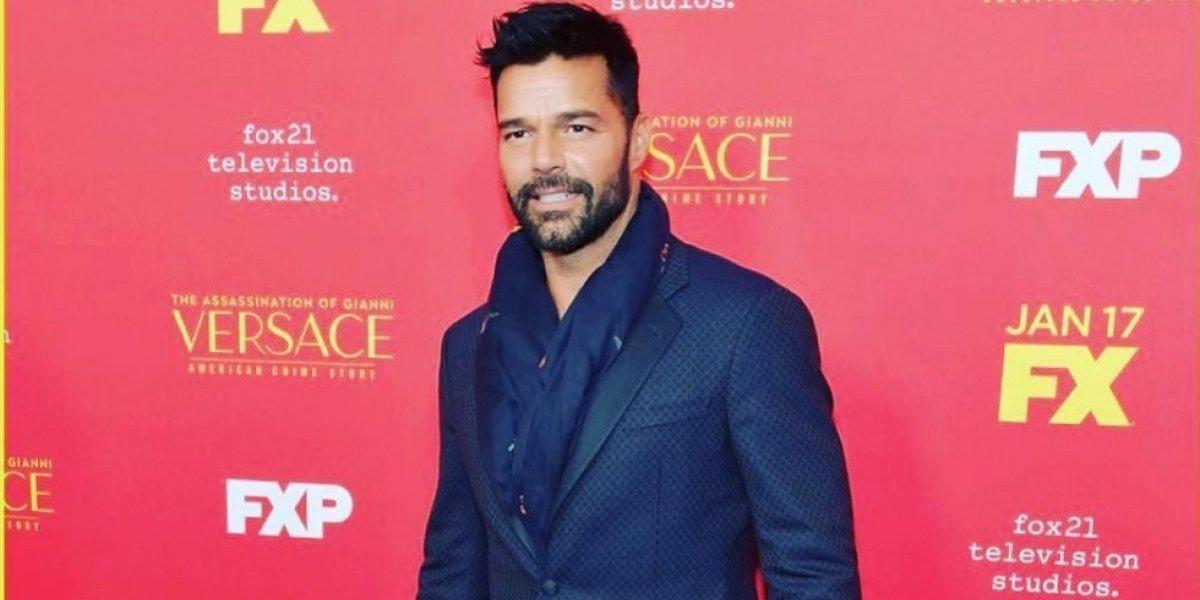 Ricky Martin se desnuda por completo durante escena erótica