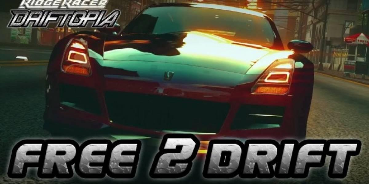 Namco Bandai anuncia Ridge Racer: Driftopia para PS3 y PC